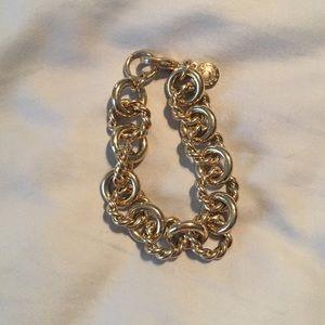 J. Crew Factory Gold Link Bracelet
